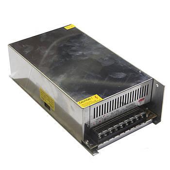 Блок питания металл 12V 50A METAL D100