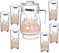 "Набор для напитков 7 предметов, ""Arcopal Elise"" 3216 / 30206"