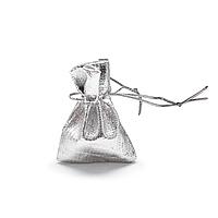 Мешочек парча (вельвет) серебро 5х7 см 100 шт в уп.