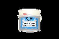 Шпатлевка с углеволокном KDS Carbon Fiber 0,2 кг
