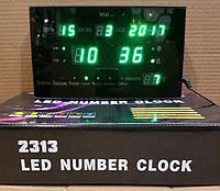 Настольные электронные LED часы LED-2313-4