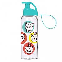 "Бутылка для напитков пластик ""Herevin Cat Smile"" 500 мл 47105"
