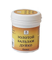 Золотой бальзам Дуйко для лечения опорно-двигательного аппарата, 60 мл
