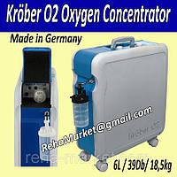 Концентратор кислорода Krober O2 6L Oxygen Concentrator, фото 1