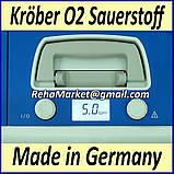 Концентратор кислорода Krober O2 6L Oxygen Concentrator, фото 3