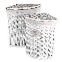 Корзины плетеные для белья 029PV