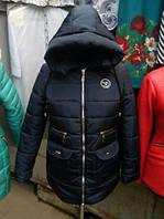 Теплая Зимняя Куртка модная 52-60р , доставка по Украине