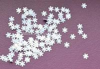 Снежинки (паетки) для дизайна ногтей 1 г.