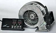 Комплект автоматики для твердотопливного котла AIR Logic (металл) + DM 120
