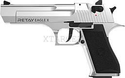 Пистолет стартовый Retay Eagle X кал. 9 мм ХРОМ