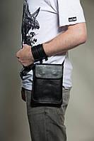 Кожаная мужская сумка Scappa