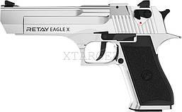 Пистолет стартовый Retay Eagle X кал. 9 мм НИКЕЛЬ