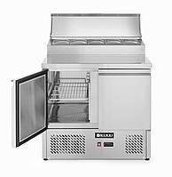 Сстол холодильный саладетта 2-дверный с надставкой Hendi