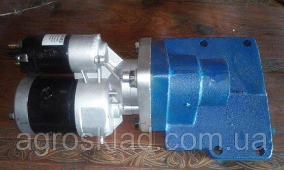 Переоборудование ПДМ-10 под стартер (с усиленным редукторным стартером)