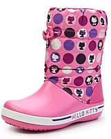 Сапоги Crocs Crocband Hello Kitty р-р С8