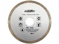 Алмазный диск отрезной со сплошной кромкой 115 мм. Eurotec