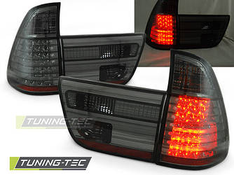 Диодные фонари задние стопы BMW X5 E53 темные