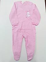 КБ 77 Комбінезон, байка р.86 колір300 рожевий