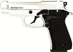Пистолет стартовый Retay 84FS. Цвет - ХРОМ