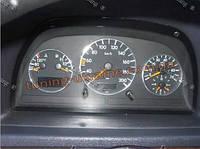 Алюминиевые рамки в щиток приборов для Mercedes Vito 1996-2003