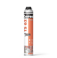 ПЕНА полиуретан. монтаж TS62 PRO (под пист.) 750мл Ceresit
