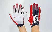 Кроссовые перчатки текстильные FOX   BC-4829-1