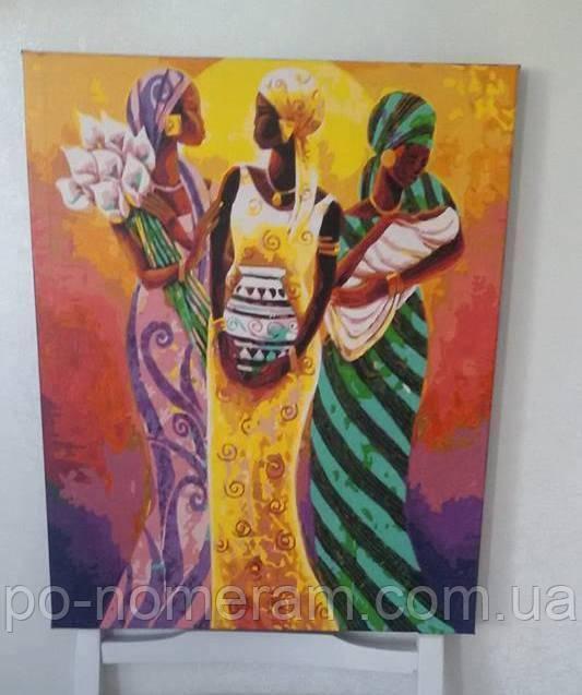 Фото и отзыв о картине по номерам Африканские мотивы