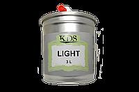 Шпатлевка  облегченная KDS Light 3 л