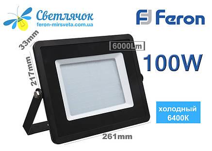 Прожектор светодиодный 100W Feron LL-922, фото 2