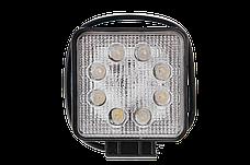 Светодиодная фара рабочего света Allpin мощностью 24 Вт из 8 диодов по 3 Вт  Epistar (6196S24S), фото 3
