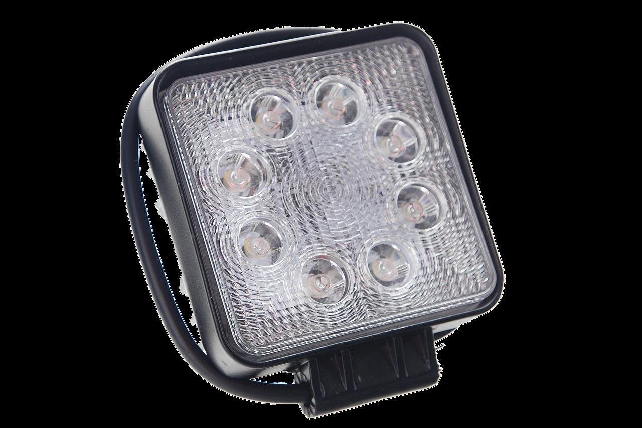 Светодиодная фара рабочего света Allpin мощностью 24 Вт из 8 диодов по 3 Вт  Epistar (6196S24S)