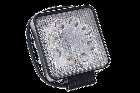 Светодиодная фара рабочего света Allpin мощностью 24 Вт из 8 диодов по 3 Вт  Epistar (6196S24S), фото 2