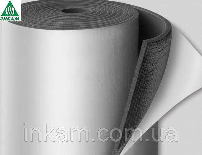 Каучуковая самоклеющаяся теплоизоляция EUROBATEX 19 мм