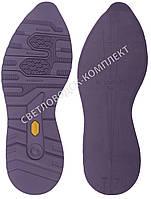 Резиновая подошва/след для обуви BISSELL BL-23, цв.#7 фиолетовый, размер 38-39