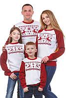 Сімейна колекція новорічних світшотів з оленями