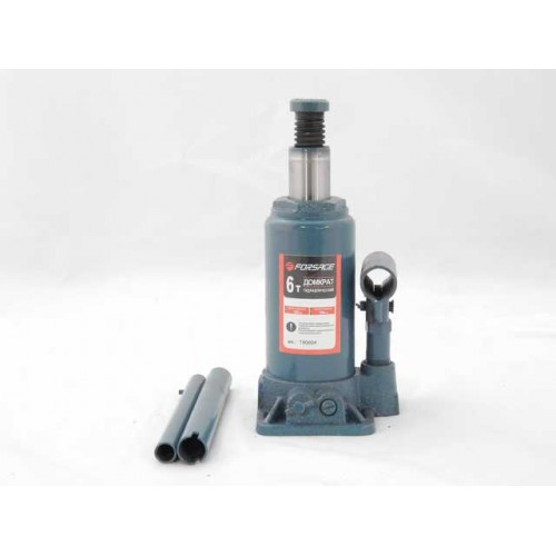 Домкрат бутылочный 6 т с клапаном (h min 185мм, h max 355мм)