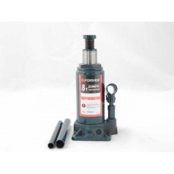 Домкрат бутылочный 8 т с клапаном (h min 200мм, h max 385мм)