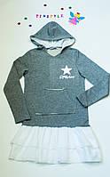 Оригинальное платье для девочки  рост 116-164 см, фото 1
