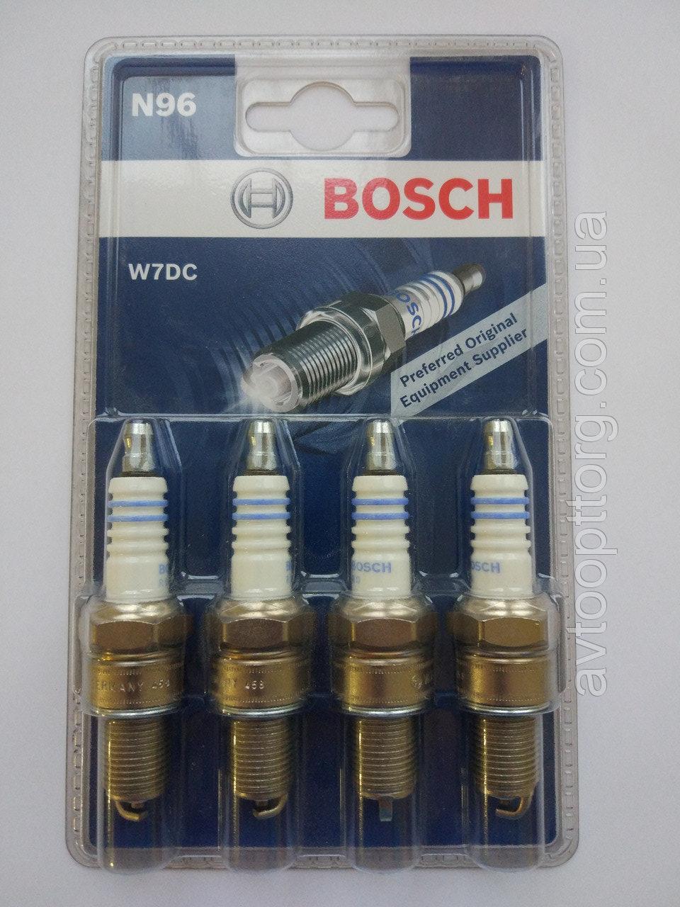Свечи BOSCH ВАЗ 2101-2107 W7DC GERMANY