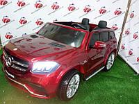 Детский электромобиль джип Mercedes GLS 63, бордо (HI228) (3565)