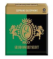 Трости для сопрано саксофона RICO Grand Concert Select - Soprano Sax #3.5 - 10 Box