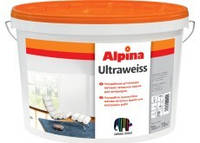 Alpina ULTRAWEISS ультра белая латексная краска 10 л