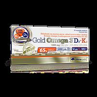 Olimp Gold Omega-3 D3+K2 30 капсул