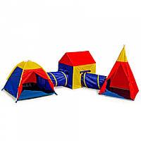 Детская игровая палатка Ecotoys 5 в 1