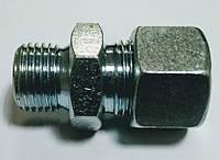 Соединение металлическое M16 под трубку 12 прямое WIRA, фото 1