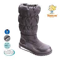 Сапоги зимние на девочку, детская подростковая зимняя обувь ТомМ Размеры 30 -36