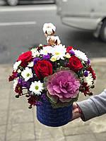 Цветы в корзине с доставкой