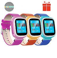 Оригинал! Умные часы Q80, Smart Baby Watch Q80 c GPS трекером