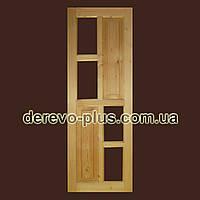 Двері з масиву дерева 70см (під скло) s_1570