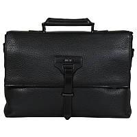 Мужской портфель из 100% кожи High Touch HT007891-11
